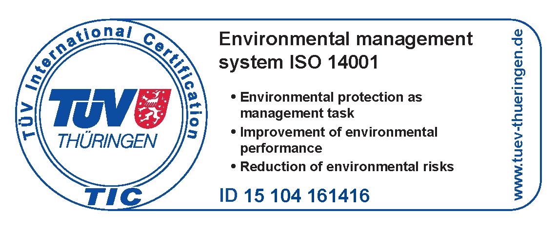 ACMA d.o.o. - ISO 14001