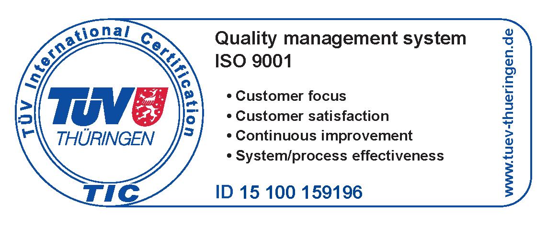 ACMA d.o.o. - ISO 9001